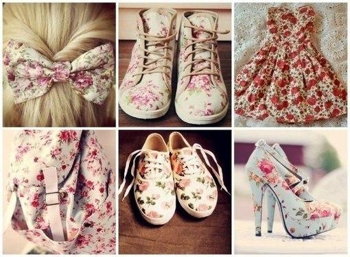 обувь в стиле прованс