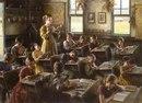 Душу формирует и детский сад, и семья. Но прежде всего школа! Я в первый класс пошёл в 1943-м.