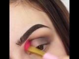 Вечерний лиловый макияж ??✨