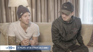 twenty one pilots: Interview on Le 19.45 (in French)