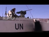 Syria: UNDOF and Russian military police to reopen Syria-Israel road