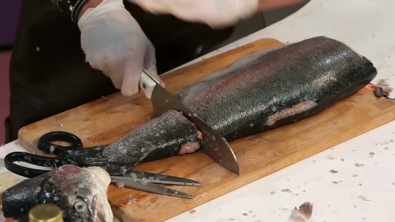 Быстрые разборки с рыбой