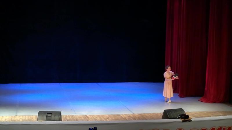 Щелкунчик.(начало)Из отчётного концерта Детского Образцового Театра танца Плясицы, ДШИ Форте.