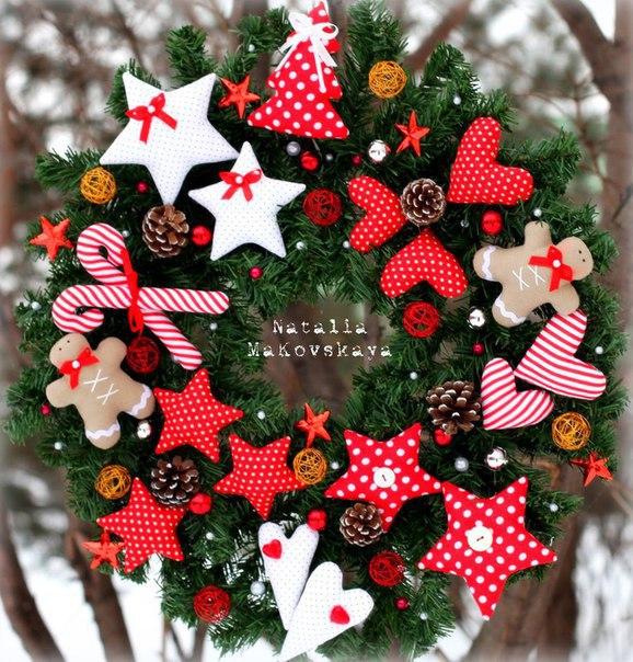 Новогодние поделки и украшения своими руками!
