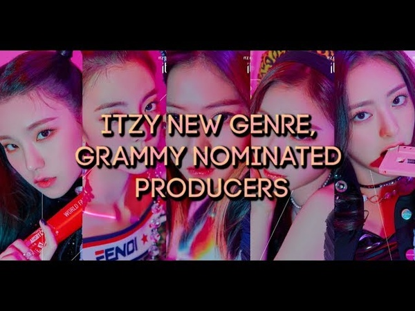 ITZY Debuting With New Genre GRAMMY Nominated Producers