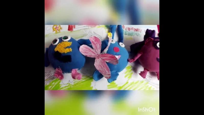 Смешарики - Каркаде (фанатская серия из кукол)