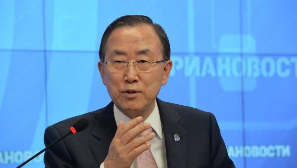 Генсек ООН призвал РФ и США оказать давление на стороны конфликта в Сирии