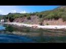 Аю-Даг дикий пляж, вода удивительная, плывешь - она то холодная то теплая