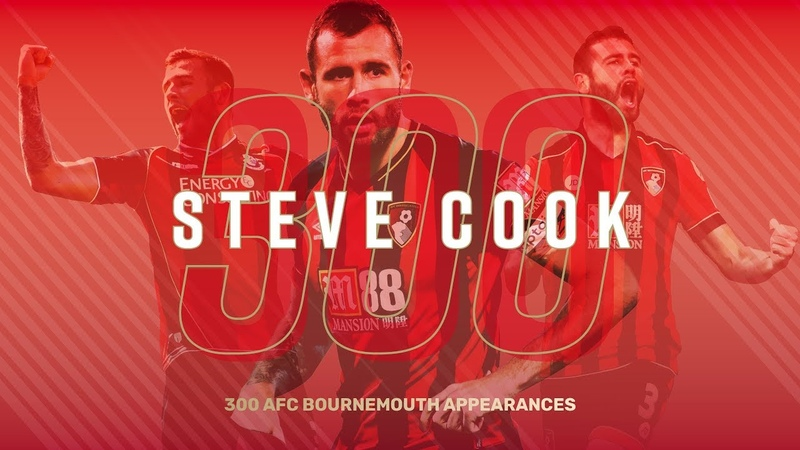COOK LANDMARK 🍒 300 AFC Bournemouth appearances