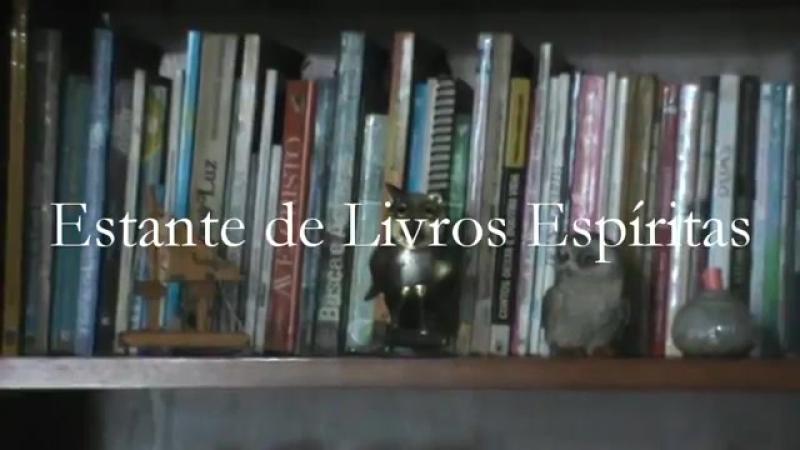 Estante de Livros Espíritas - video de apresentação