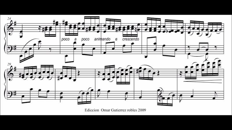 Manuel Ponce - Intermezzo No. 1- Cyprien Katsaris Piano