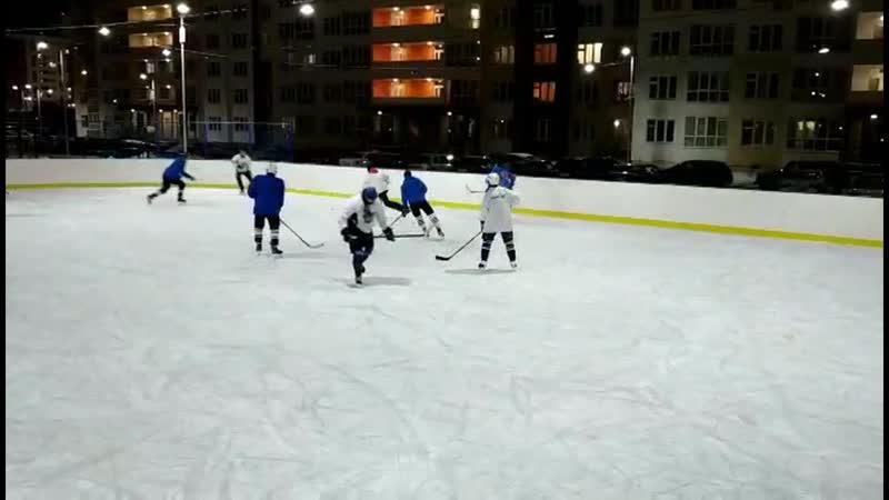 🚨🚨🚨 . 🏋️♂️Подготовка к ЛДХ🏒 хоккей хоккейный_двор этопреображенский хк_домово хк_8школа 🇷🇺