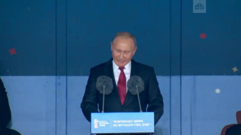 Путин пожелал успеха всем командам на ЧМ-2018