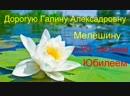 80-летие Г.А.Мелёшиной 03.12.18 г.