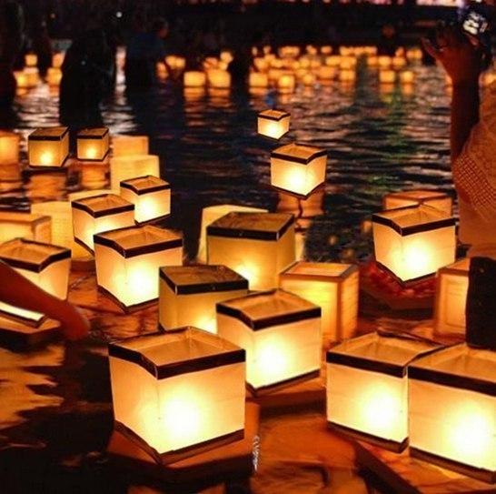 Водяные фонарики -
