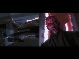 Как нужно-не нужно фехтовать световым мечом - Звёздные Войны- Скрытая Угроза