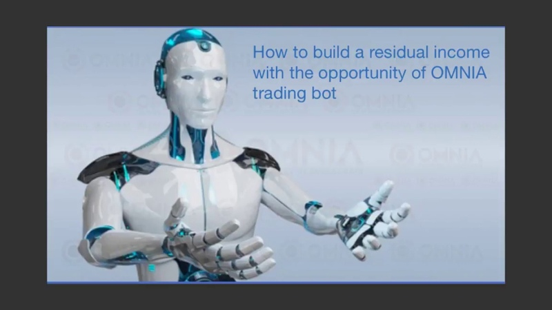 How to make residual income with OMNIA trading bot.