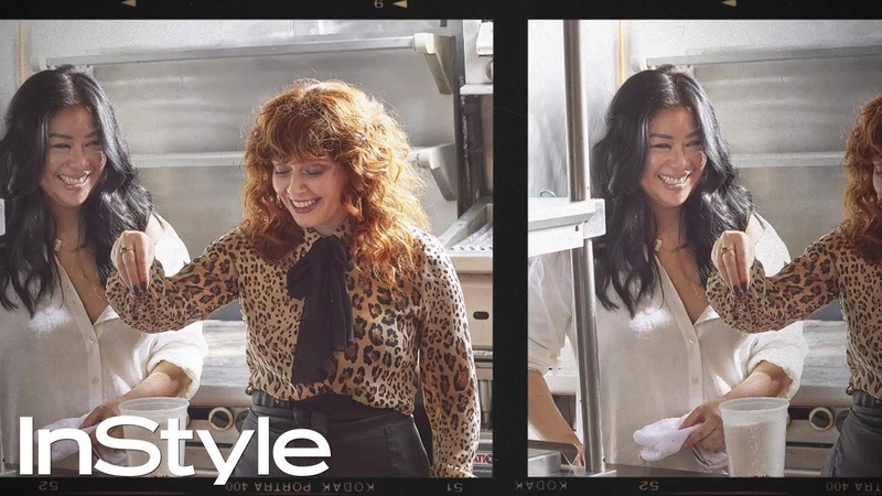 Watch OITNB Star Natasha Lyonnes Relatable Attempt at Cooking | InStyle
