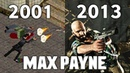 Evolution Of Max Payne Games 2001 - 2013