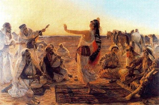 История восточного танца