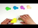 Learn Colors Kinetic Sand - Color Lion How To Preschooler Kids Video