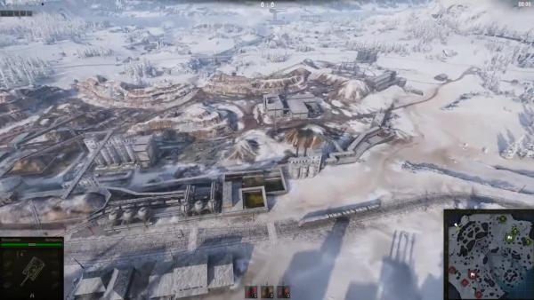 World of Tanks Карта Клондайк в патче 1 0 2