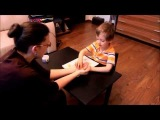 Развитие речи неговорящего ребенка 5-ти лет, фрагмент занятия
