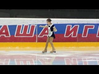 Ника Матвеева Спартак 20180524 Ice Spartak G Novichok 3 2012 Plus (1).mp4