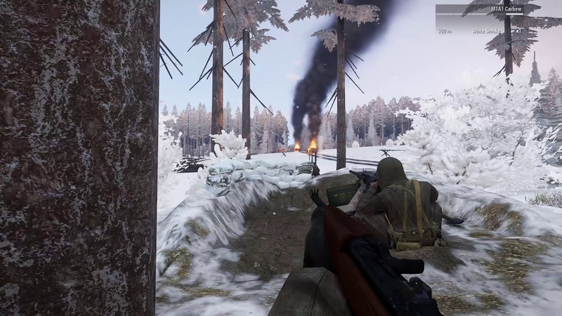 ARMA 3 Iron Front Waffen SS vs American Rangers Ardennes [RED BEAR Community]