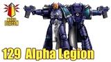 ВМ 129 Либрариум - Альфа Легион Alpha Legion