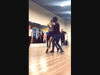 Pedro & Evgeniya Kizomba Class Rostov on Don