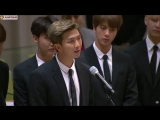 Namjoon speech at the United Nations (24.09.2018)