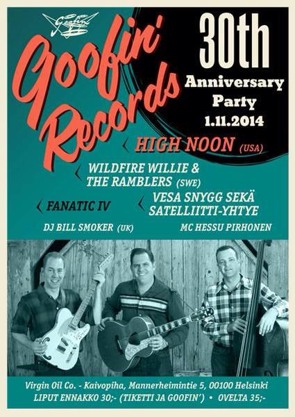 01.11 GOOFIN' RECORDS 30th Anniversary Party