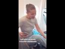Белла в самолёте Ницца Франция 24 05 18