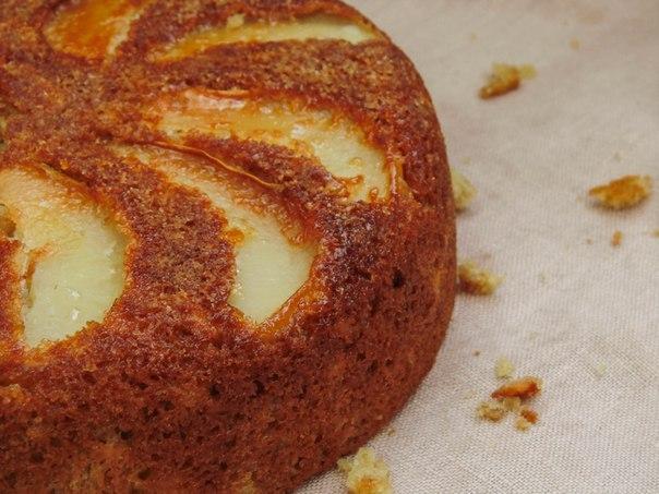 Пшенично-овсяный пирог к чаю