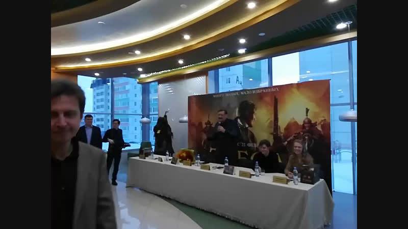 Автограф-сессия перед показом фильма Тобол в кинотеатре Апельсинема
