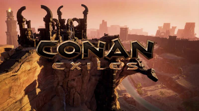 Conan Exiles. Лелик и Алекс на сервере Asgard