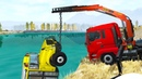 Truck Cranes Accidents 1 Beamng drive