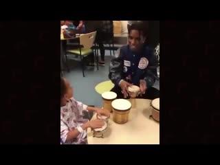 A$ap rocky в детском госпитале