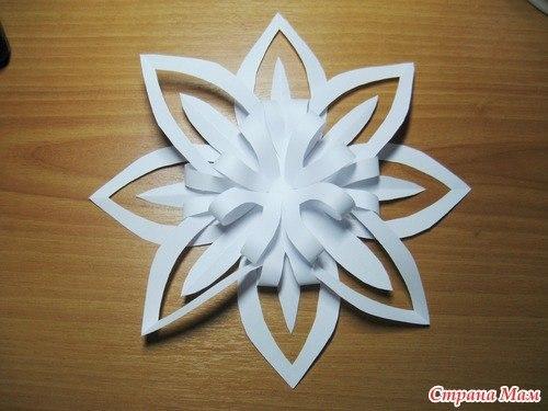 Объемные звезды из бумаги своими руками схемы