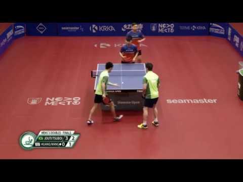 Final|Tsuboi Gustavo|Eric Jouti vs Huang Chien|Tu Wang Tai Wei|2019 ITTF Challenge Slovenia Open(Настольный теннис)