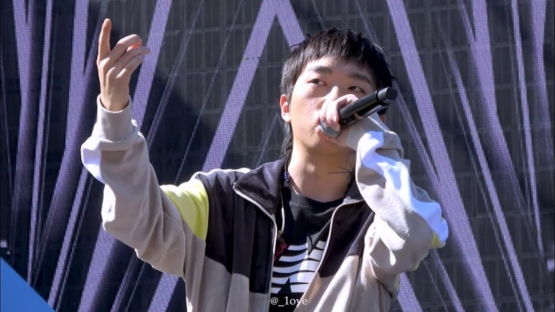 [09.09.2018] WooWonJae - Bless (New Balance Run On Seoul)