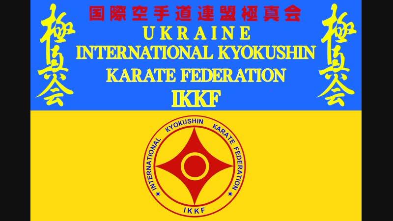 Зимняя Школа KYOKUSHIN KARATE IKKF Температура -15