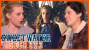 Riverdale 3x08 Lili Reinhart Cole Sprouse React to Griffin Queen Betty Sweetwater Secrets