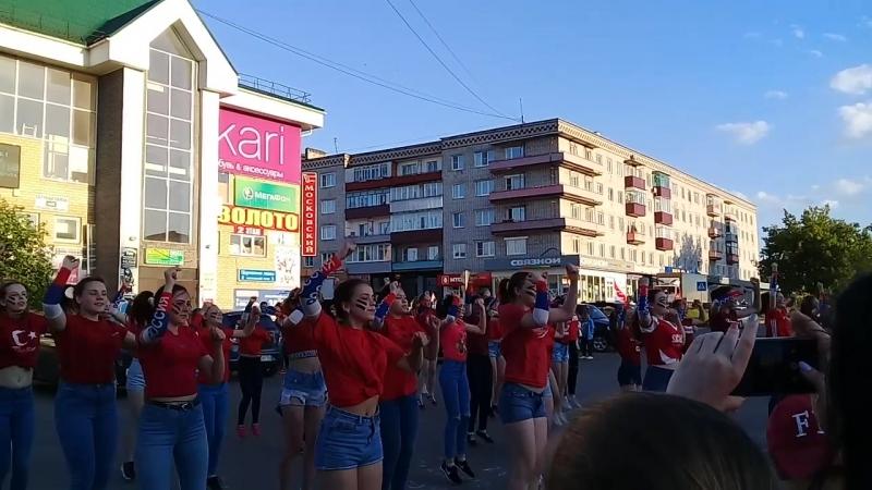 Флешмоб ко Дню Молодежи г.Кулебаки
