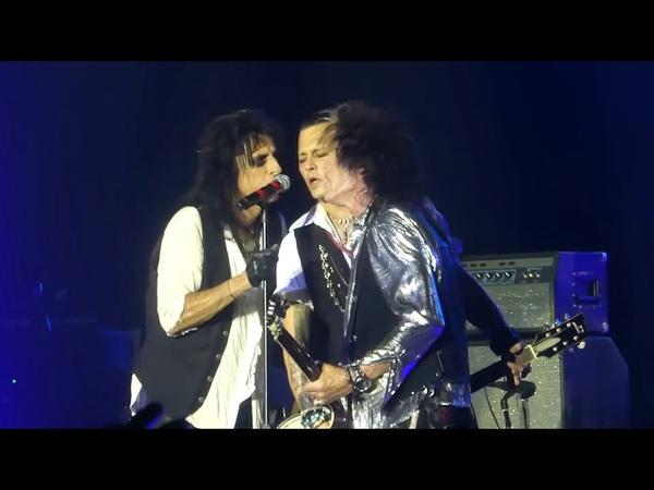 Heroes (Johnny Depp Vocals) Hollywood Vampires@Sands Bethlehem PA Center 52118
