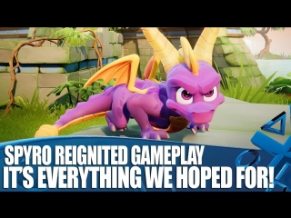 Spyro Reignited Trilogy PS4 Gameplay - Its Everything We Hoped For!