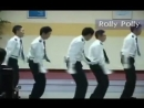 Korean Policemen Dancing to Roly-Poly (T-Ara)