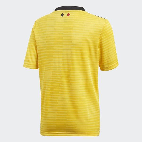 Гостевая игровая футболка сборной Бельгии