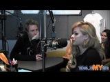 Avril Lavigne & Chad Kroeger In Studio With Val & Liz (104.3 MYFM)